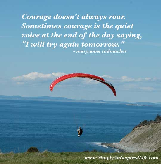 New Confidence Quotes: Courage Quotes